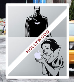 macbook sticker hollywood