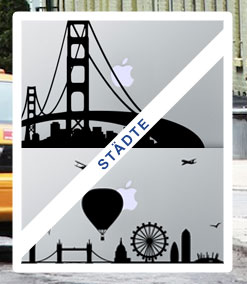 macbook sticker staedte