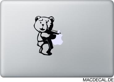 MacBook Aufkleber Ted