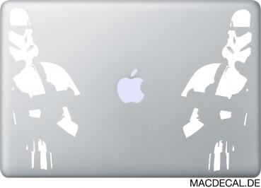 MacBook Aufkleber Stormtrooper Security