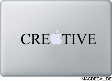 MacBook Sticker Aufkleber - Creative