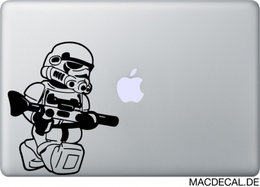 MacBook Sticker Stormtrooper