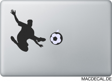 MacBook Sticker Aufkleber Soccer