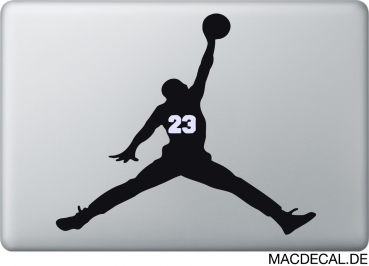 MacBook Sticker Aufkleber Michael Jordan