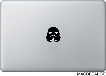 MacBook Sticker Stormtrooper Mask