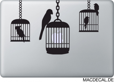 MacBook Sticker Aufkleber - Birds