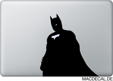 MacBook Sticker Aufkleber Black Batman
