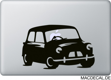 MacBook Sticker Aufkleber Mini Cooper