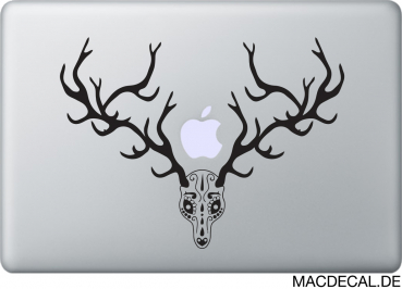 MacBook Sticker Hirschgeweih Fatima