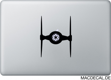 MacBook Sticker Tie Fighter