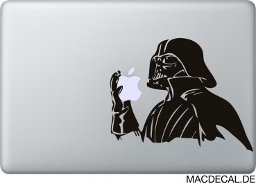 MacBook Sticker Vader Apple