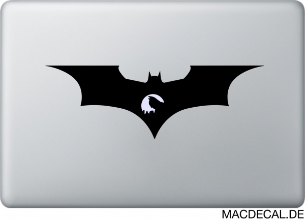 MacBook Sticker Sad Batman