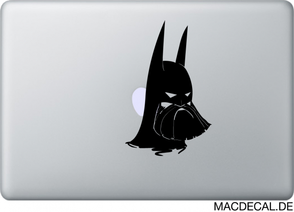 MacBook Sticker Batman Beard