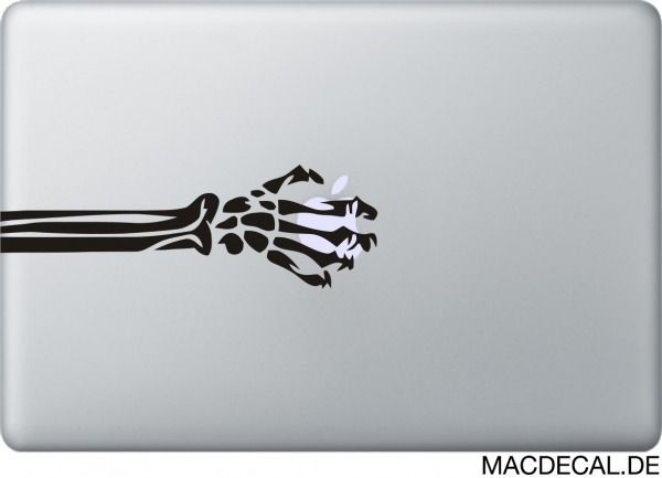 MacBook Sticker Skull