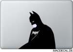 MacBook Sticker Aufkleber - Batman Sad