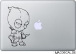 MacBook Sticker Aufkleber Deadpool