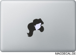 MacBook Sticker Aufkleber - Arielle