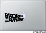 MacBook Sticker Aufkleber - Back to the Future