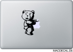 MacBook Sticker Ted Aufkleber