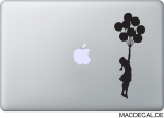 MacBook Sticker Banksy Balloon Girl