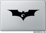 MacBook Sticker Aufkleber - Sad Batman