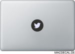 MacBook Sticker Twitter Zwitscher