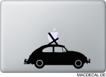 MacBook Sticker VW Käfer Aufkleber