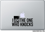 MacBook Sticker Who Knocks Breaking Bad