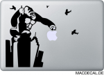 MacBook Sticker Aufkleber - Gorilla