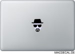 MacBook Sticker Aufkleber - Heisenberg - Breaking Bad
