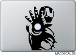 MacBook Sticker Aufkleber - Iron Man