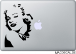 MacBook Sticker Aufkleber - Marilyn Monroe