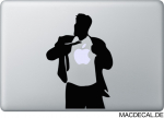 MacBook Sticker Aufkleber - Superman Cool