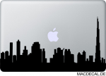 MacBook Sticker Aufkleber - Dubai