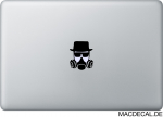 MacBook Sticker Aufkleber - Heisenberg Gas Mask