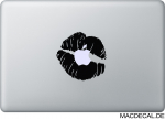 MacBook Sticker Aufkleber Lippen