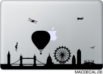 MacBook Sticker Aufkleber - London