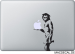 MacBook Sticker Banksy Caveman