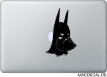 MacBook Sticker Aufkleber - Batman Beard