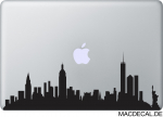 MacBook Sticker Aufkleber - Manhattan
