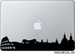 MacBook Sticker Aufkleber - Rom