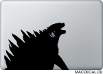 MacBook Sticker Godzilla
