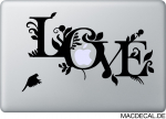 MacBook Sticker Love