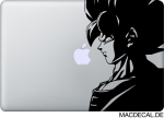 MacBook Sticker Aufkleber son goku dragonball